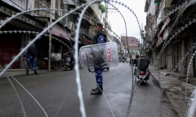 مقبوضہ کشمیر میں 32ویں روز بھی کرفیو،موبائل فون، انٹرنیٹ سروس بند اور ٹی وی نشریات معطل