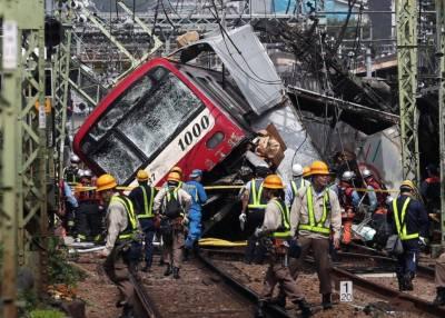 جاپان: ٹرین اور ٹرک کے درمیان تصادم ، 30 افراد زخمی