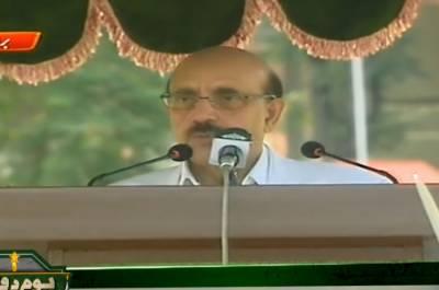 کشمیری تنہا نہیں ہیں، ہم ہر محاذپر ان کے لیے لڑیں گے: صدر آزاد کشمیر