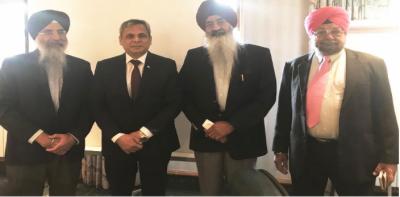 سکھ برادری کے رہنمائوں کی کرتارپورراہداری کھولنے کے پاکستانی اقدامات کی تعریف