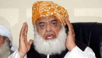 حکومت کے خاتمے کیلئے دھرنا، فضل الرحمان نے سیاسی رابطوں کا آغاز کردیا