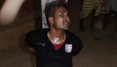 تبریز انصاری قتل معاملہ:پو لیس نے بھی ہند ﺅ انتہا پسندﺅں کے آ گے گھٹنے ٹیک دئیے۔