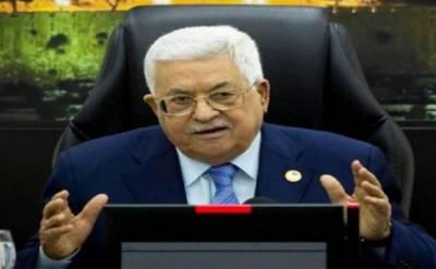 اسرائیل کی طرف سےمقبوضہ مغربی کنارے کےعلاقوں کےانضمام کی صورت میں تمام معاہدے ختم کردینگے:صدر فلسطین محمودعباس