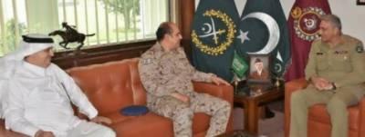 سعودی وزیردفاع کے فوجی مشیر کی آرمی چیف سے ملاقات، علاقائی سلامتی کا جائزہ