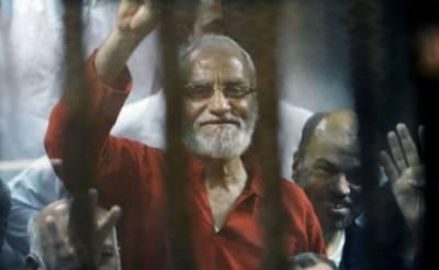 مصر، اخوان المسلمون کے سربراہ سمیت مرکزی رہنماوں کو عمر قید کی سزا