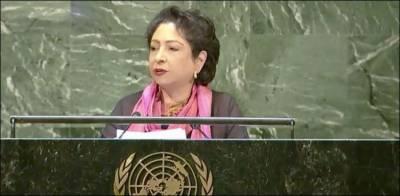مسئلہ کشمیر اقوام متحدہ کی قراردادوں پر عدم عملدر آمد کی واضح نشانی ہے: ملیحہ لودھی
