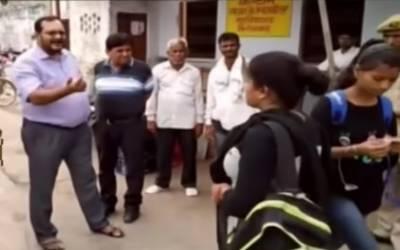 بھارتی ریاست اترپردیش کے کالج میں برقعہ پہننے والی طالبات کے داخلے پر پابندی