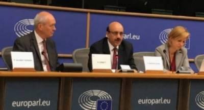 یورپین ممالک مقبوضہ کشمیرمیں انسانی حقوق کی خلاف ورزیوں پر بھارت کے خلاف تجارتی پابندیاں عائد کریں: سردار مسعود خان