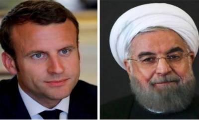 فرانس کا ایران کےایٹمی معاہدے پرعملدرآمد کرانےکی کوششیں جاری رکھنےکےعزم کا اعادہ