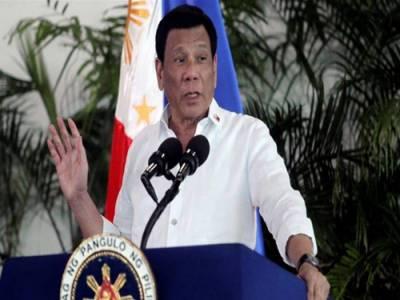 فلپائنی صدر کا عوام کو کرپٹ سرکاری ملازمین کو گولی مارنے کا حکم
