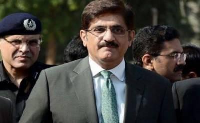 کسی کی ہمت ہے تو سندھ تقسیم کرکے دکھائے:مراد علی شاہ
