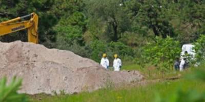 میکسیکو میں کنویں سے 37 افراد کی لاشیں برآمد