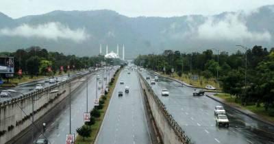 اسلام آباد، گوجرانوالہ، سیالکوٹ، نارووال سمیت کئی شہروں میں بارش