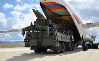 روسی S-400 میزائل سسٹم کی دوسری بیٹری بھی ترکی پہنچ گئی۔