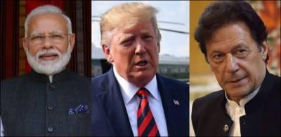 امریکی صدر ٹرمپ کی مسئلہ کشمیر پر چوتھی بار ثالثی کی پیشکش