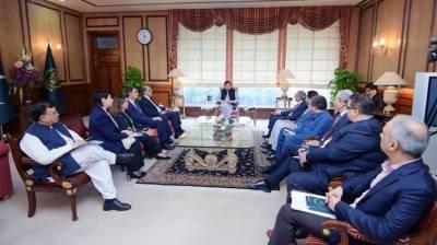 وزیراعظم عمران خان سے آئی ایم ایف کے وفد نے ملاقات
