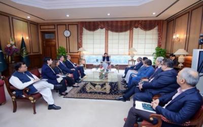 وزیر اعظم سے آئی ایم ایف کے وفد کی ملاقات،پاکستان کی معاشی صورتحال اور قرض پروگرام میں پیشرفت کا جائزہ