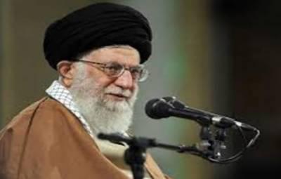 امریکا سے قطعی کسی بھی سطح پر بات چیت نہیں کی جائےگی، ایرانی سپریم لیڈر