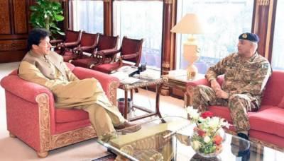 وزیراعظم سے آرمی چیف کی ملاقات ، دورہ سعودی عرب اور امریکہ سے متعلق تبادلہ خیال