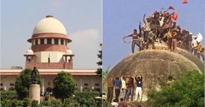 بابری مسجد کیس ہر صورت 18 اکتوبر تک نمٹایا جائے گا. بھارتی سپریم کورٹ