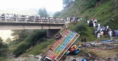 راولاکوٹ کے نزدیک مال بردار گاڑی شاہراہ غازی ملت پر حادثہ کا شکار ہو گئی، حادثہ میں پانچ افراد جان بحق اور ایک زخمی ہو گیا