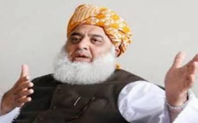 مولانا فضل الرحمان کا ہر صورت اکتوبر میں آزادی مارچ کا اعلان