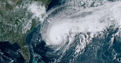 سمندری طوفان ہمبرٹوشمالی بحر اوقیانوس کے جزیرے برمودا سے ٹکرا گیا ،80فیصد علاقہ بجلی سے محروم