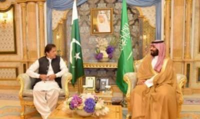 وزیر اعظم عمران خان کی شہزادہ محمد بن سلمان سے ملاقات