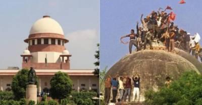 بھارتی سپریم کورٹ نے بابری مسجد کی شہادت سے متعلق کیس کی سماعت اٹھارہ اکتوبر تک مکمل کرنے کی ہدایت کر دی
