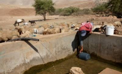 اسرائیلی فوج نے وادی اردن کی پانی سپلائی کاٹ دی
