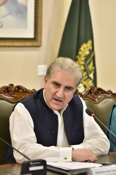 پاکستان مظلوم کشمیریوں کے ساتھ کھڑا ہے اوروہ اقوام متحدہ میں ان کامقدمہ لڑےگا:شاہ محمود