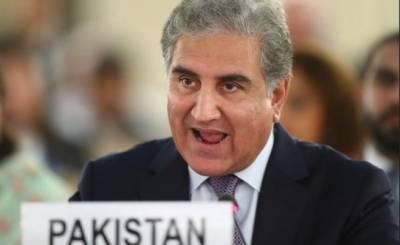 پاکستان مظلوم کشمیریوں کے ساتھ کھڑا ہے اوروہ اقوام متحدہ میں ان کامقدمہ لڑےگا۔شاہ محمود قریشی