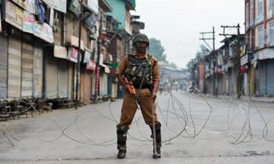 کشمیر میں لاک ڈاؤن 50ویں روز میں داخل،ایک کشمیری نوجوان جاں بحق