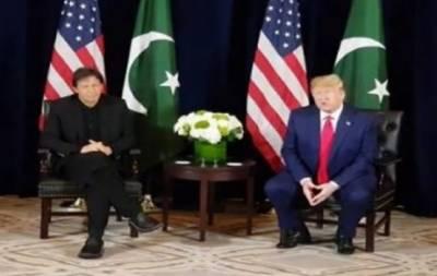 امریکہ مسئلہ کشمیر پر اپنا کردارادا کرے ،افغانستان میں استحکام خطے کی ضرورت ہے : عمران خان