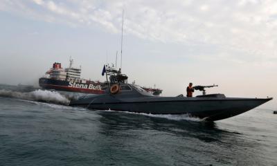 ایران کا برطانوی آئل ٹینکر چھوڑنےکااعلان