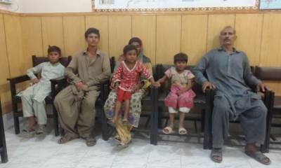 بہاول نگر:زمیندار کی قید سے میاں بیوی اور چار بچے بازیاب