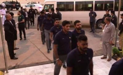 دورہ پاکستان کیلیےسری لنکن ٹیم پاکستان پہنچ گئی