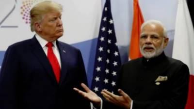 بھارت نے امریکی صدر کی جانب سے کشمیر کے معاملے میں ایک بار پھر ثالثی کی پیش کش کومسترد کردیا