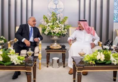 عراقی وزیراعظم عادل المہدی کی شاہ سلمان بن عبدالعزیز سے ملاقات