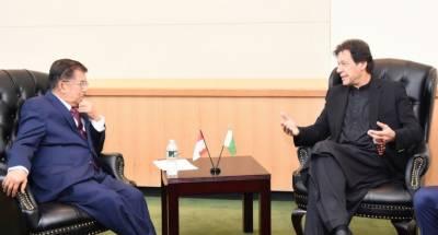 انڈونیشیا کے نائب صدر کی وزیراعظم عمران خان سے ملاقات
