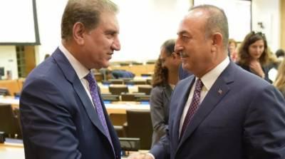 ترک صدر کے مقبوضہ کشمیر میں بھارتی مظالم کیخلاف آواز بلند کرنے سے مظلوم کشمیریوں کو حوصلہ ملا،وزیر خارجہ