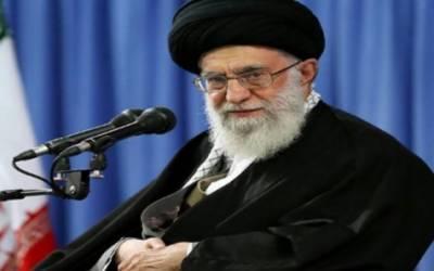 ایران کو امریکی پابندیوں کے خلاف یورپی مدد کی امید ترک کرنی چاہیے: آیت اللہ خامنہ ای