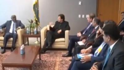 افریقہ میں اقوام متحدہ کے امن مشن کی کارروائیوں میں شمولیت پر پاکستان کو فخر ہے،وزیراعظم