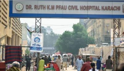 کراچی کے سول اسپتال سے شراب کی بوتلیں برآمد