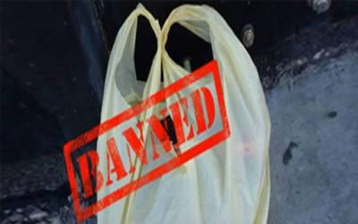 سندھ بھر میں آج سے پلاسٹک بیگز کے استعمال پر پابندی ہوگی