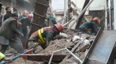 لاہور میں عمارت منہدم ہونے سے ایک شخص جاں بحق