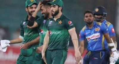 پاکستان کی سری لنکا کو 5 وکٹوں سے شکست، سیریز بھی جیت لی