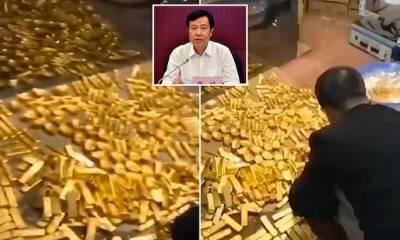 چین کی سیاسی جماعت کے لیڈر کے گھرسے 40 ارب ڈالر اور13 ٹن سونا برآمد