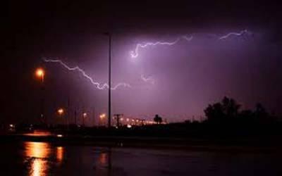 محکمہ موسمیات نے سعودی عرب میں طوفانی بارشوں کا الرٹ جاری کردیا۔
