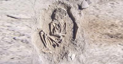 ترکی: 5 ہزار سال قدیم 6 سالہ بچے کا ڈھانچہ برآمد
